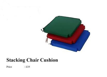 Picture of Stacking chair cushions