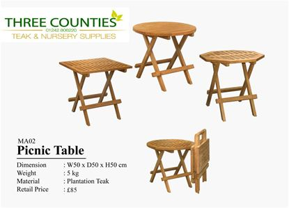 Picture of Picnic table